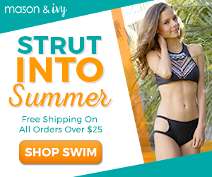 Strut Into Summer Shop Swimwear