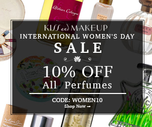 International Women Day. Use Code: WOMEN10 at Checkout and Get 10% OFF All Women Perfumes