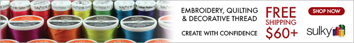 Sulky.com Embroidery, Quilting & Decorative Thread