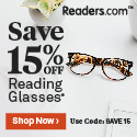 15% off at Readers.com