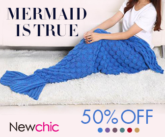 45% OFF Mermaid Tail Blanket