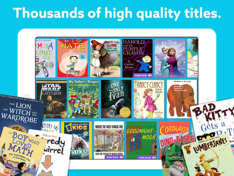 Thousands of high quality titles.