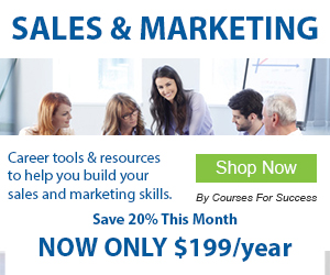 Improve your Sales & Marketing Skills with the Career Builder Library