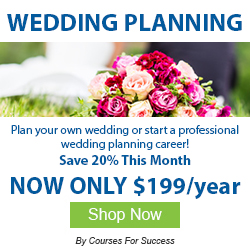 Plan your own weddings or start a wedding planning career!