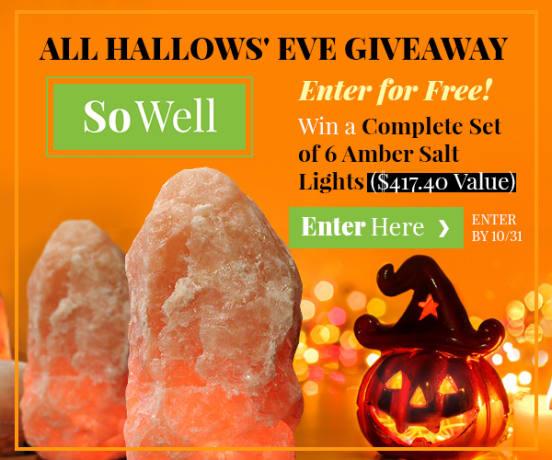 SoWell Salt Lamp Halloween Giveaway