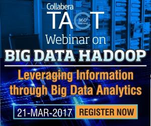 Webinar on BIG DATA HADOOP