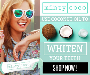 Naturally whiten teeth!