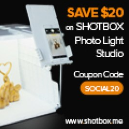 fabulous find - Shotbox for better pictures