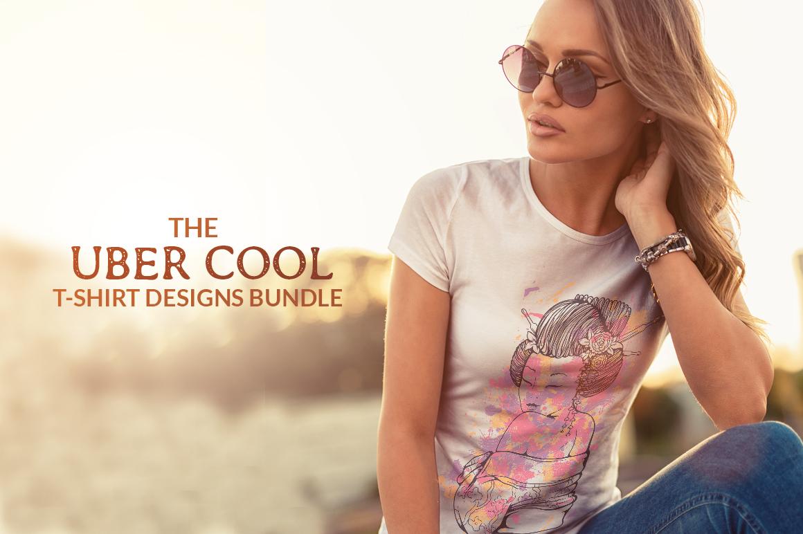 UberCool T-Shirt Designs Bundle
