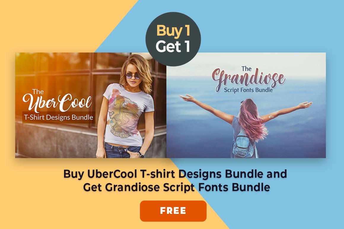 UberCool T-Shirt Designs Bundle Offer