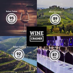 Winecrasher Rated Wines at Best Prices