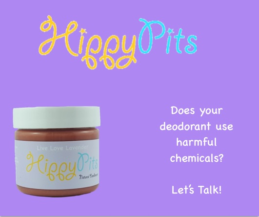 Hippy Pits Natural Deodorant