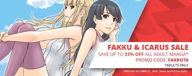 Adult Manga Sale