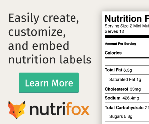 Nutrifox-nutrition-label-generator