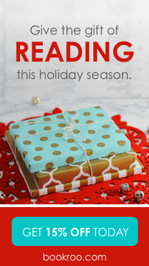 Give the gift of READING. Get 15 percent off any subscription today at bookroo.com!