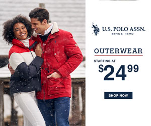 Outerwear Starting at $29.99