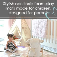 Stylish Non-toxic Foam Play Mat