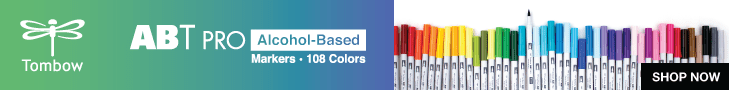 Tombow ABT PRO Alcohol-Based Art Markers