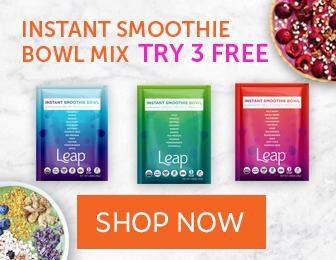Leap Organic Fruit & Vegetable Smoothies