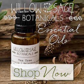 Willow and Sage Botanicals Essential Oils