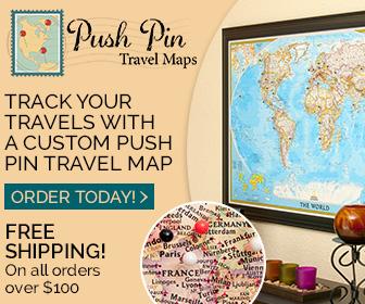Push Pin Travel Maps