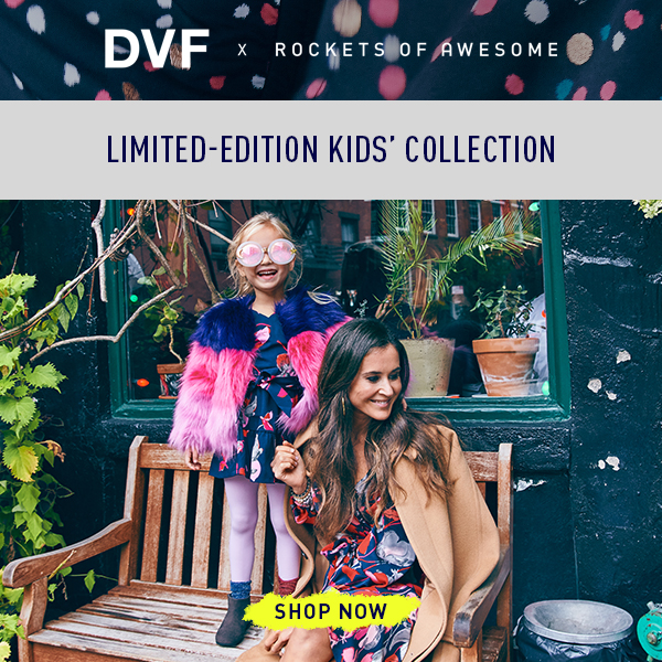 DVF x Rockets of Awesome Collection