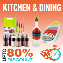 80% Off On Kitchen & Dining Items