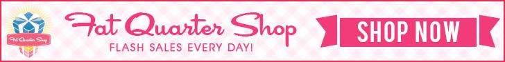 Fat Quarter Shop Daily Flash Sale