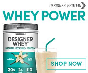 Designer Whey Protein Powders