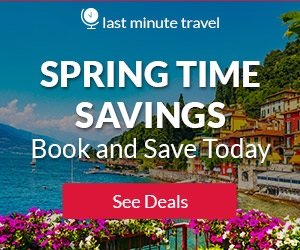 Here Comes the Sun! Use promo code SPRING19 and get $30 off hotel bookings!