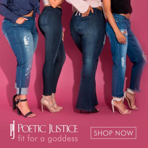 African American Designer Jeans