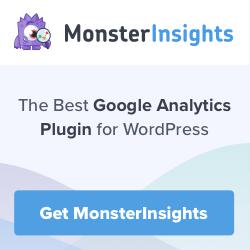 MonsterInsights the best Google Analytics plugin for WordPress