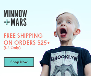 Free Shipping On Orders $25+ at Minnowandmars.com