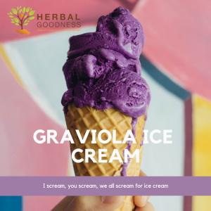 Graviola Ice Cream recipe