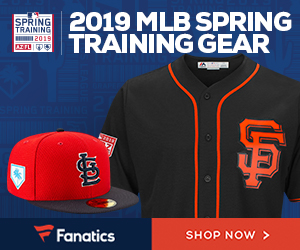 2019 MLB Spring Training Gear