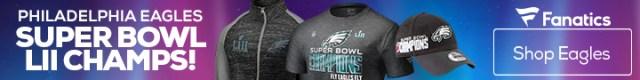Philadelphia Eagles Super Bowl Championship Gear