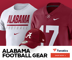 Shop for Alabama Crimson Tide Gear at Fanatics