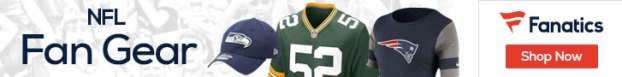 Shop for NFL Team Logo Fan Gear at Fanatics!