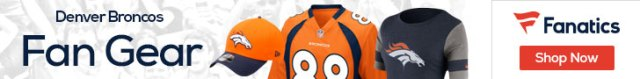 Shop the newest Denver Broncos fan gear at Fanatics!