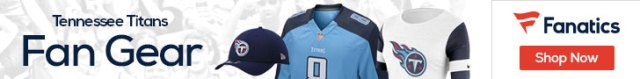 Shop the newest Tennessee Titans fan gear at Fanatics!