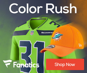 NFL Color Rush Jerseys