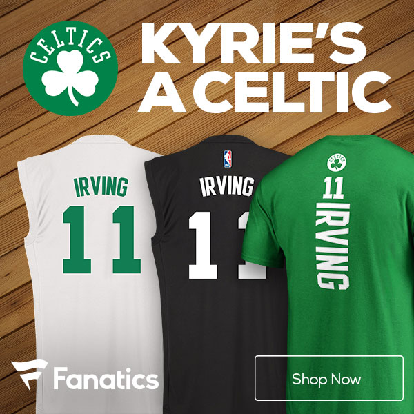 Kyrie Irving Boston Celtics Gear