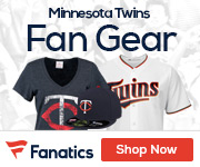 Minnesota Twins Gear at Fanatics.com
