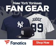 New York Yankees gear at Fanatics.com
