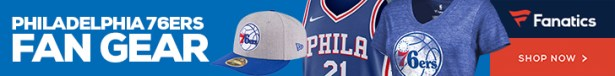 Shop Philadelphia 76ers Gear at Fanatics.com
