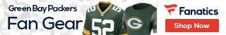 Shop for Green Bay Packers gear at Fanatics.com