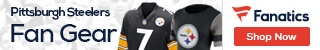 Shop for Pittsburgh Steelers gear at Fanatics.com