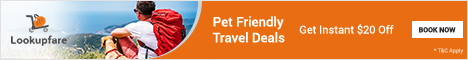 Pet Friendly Travel!