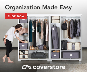 Shop organization solutions from Coverstore