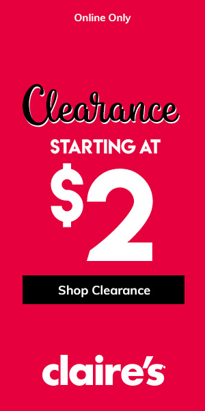 Claire's Clearance